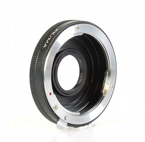 Pentax K Lens to Sony Alpha A-Mount Adaptor - Pentax K Lens to Sony Alpha A-Mount Camera Adaptor